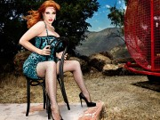 Christina Hendricks in a Sexy Photoshoot By Matthias Vriens-McGrath
