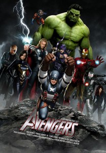 Download The Avengers (2012) 720p HD TS 900MB Ganool