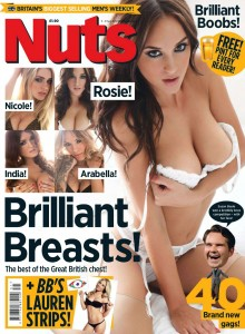 Nuts Magazine - Brilliant Breasts! (August 2012)